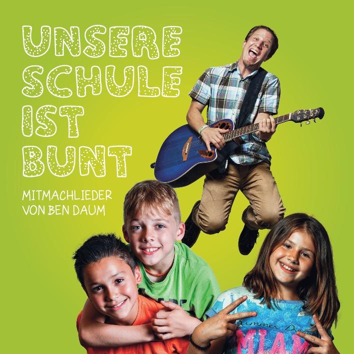 Album Cover - Unsere Schule die ist bunt