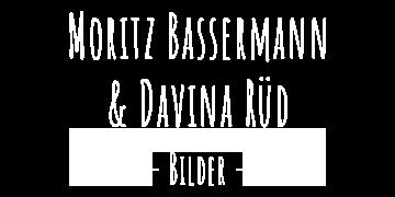 Moritz und Davina Schriftzug
