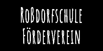 Roßdorfschule Förderverein Schriftzug