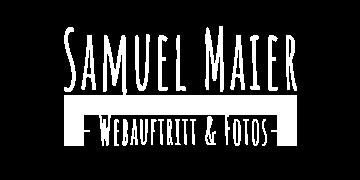 Samuel Maier Schriftzug